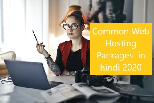 Common-Web-Hosting-Packages-in-hindi-2020